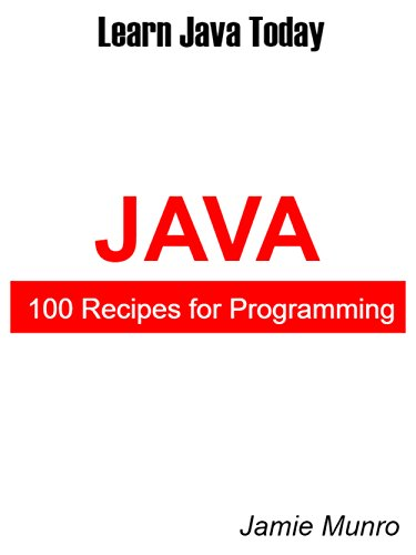 Download 100 Recipes for Programming Java: Learn Java Today PDF 1702